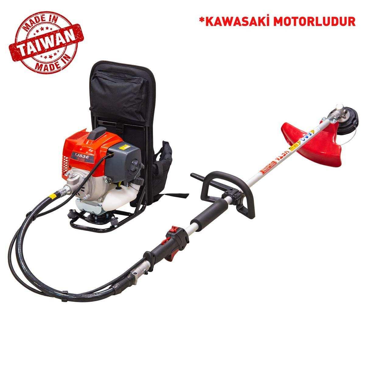 Veta Kawasaki BP-260 Motorlu Sırt Tırpan 2,7 HP