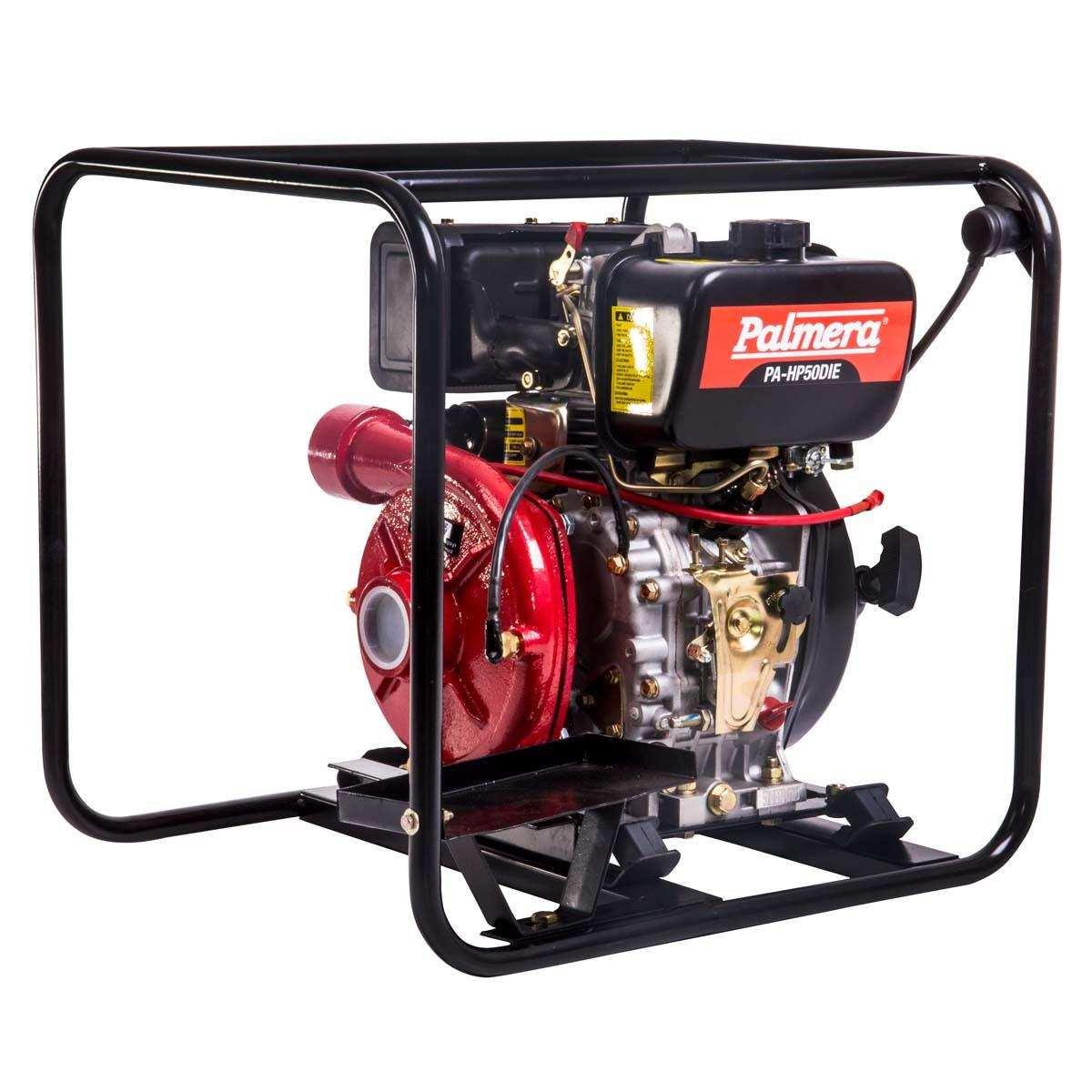 Palmera HP50DIE Dizel Marşlı Yüksek Basınçlı Su Motoru 2