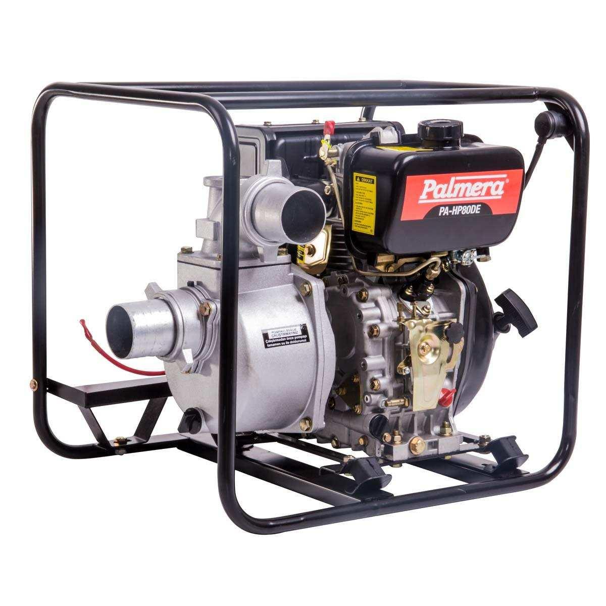 Palmera HP80DE Dizel Marşlı Su Motoru 3