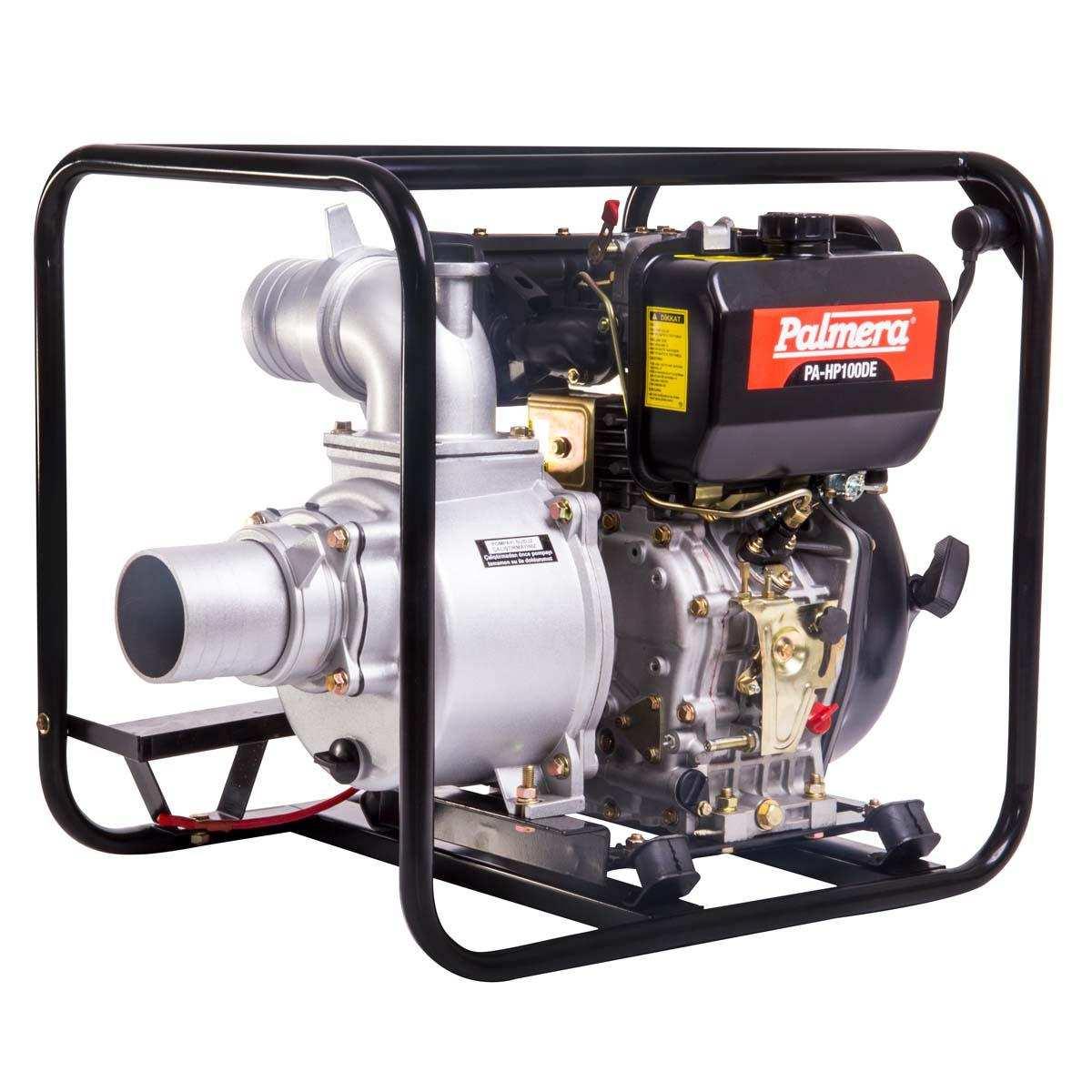 Palmera HP100DE Dizel Marşlı Su Motoru 4