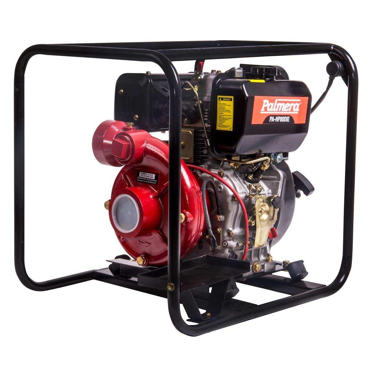 Palmera HP80DIE Dizel Marşlı Yüksek Basınçlı Su Motoru 3