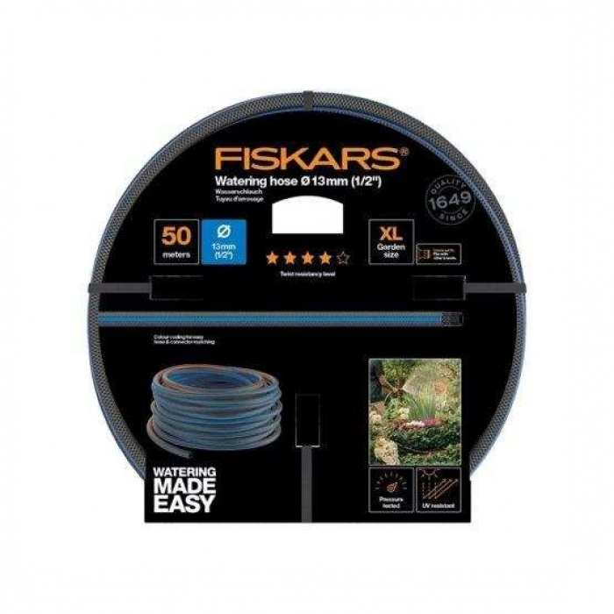 Fiskars Sulama Hortumu 13 mm (1/2) 50 Metre Q4 - 1027106